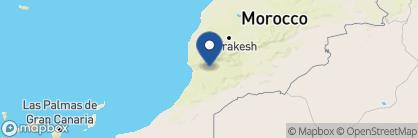 Map of Dar Zitoune, Morocco