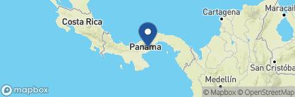 Map of Canopy Lodge, Panama