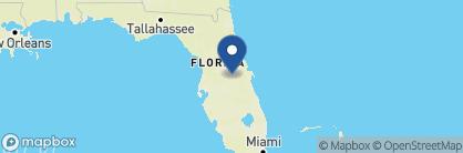 Map of Loews Royal Pacific Resort, USA