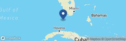 Map of Casa Marina Resort, USA