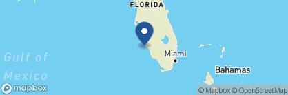 Map of South Seas Island Resort, USA