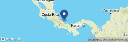 Map of Hotel Bocas del Toro, Panama