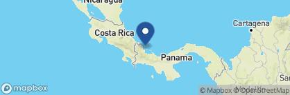Map of Punta Caracol, Panama