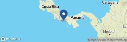 Map of Cala Mia, Panama