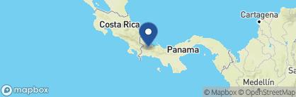 Map of Boquete Garden Inn, Panama