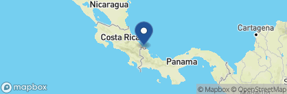Map of Shawandha Lodge, Costa Rica