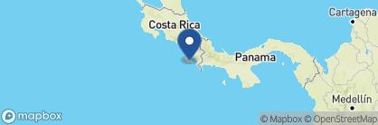 Map of La Leona Eco Lodge, Costa Rica