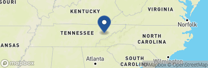 Map of Oak Haven Resort, Deep South