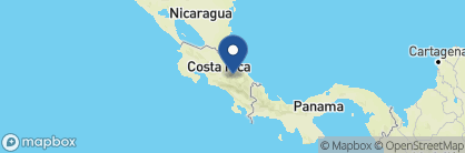 Map of Villa Florencia, Costa Rica
