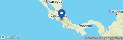Map of Dantica Cloud Forest Lodge, Costa Rica