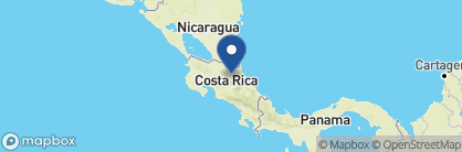 Map of La Selva Biological Station, Costa Rica
