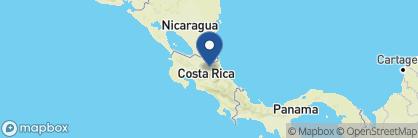 Map of Hotel Selva Verde, Costa Rica