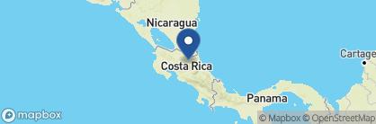 Map of La Quinta Sarapiqui Country Inn, Costa Rica