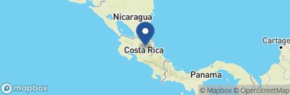 Map of Sarapiquis Rainforest Lodge, Costa Rica