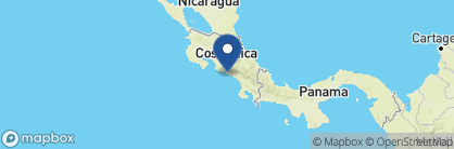 Map of Hotel Parador, Costa Rica