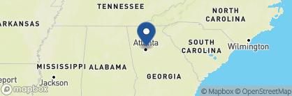 Map of The St. Regis Atlanta, Deep South
