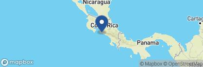 Map of Alma del Pacifico, Costa Rica