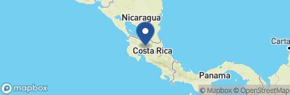 Map of Lomas del Volcan, Costa Rica