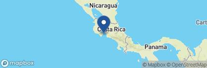 Map of Isla Chiquita, Costa Rica