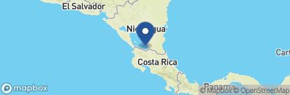 Map of Cabanas Paraiso, Nicaragua