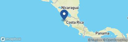 Map of Bahia del Sol, Costa Rica