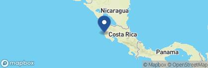 Map of Cala Luna, Costa Rica