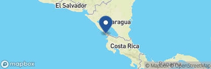 Map of Hotel Victoriano, Nicaragua