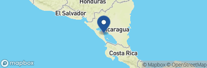 Map of Hotel Colonial, Nicaragua