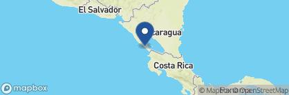 Map of Aqua Wellness Resort, Nicaragua
