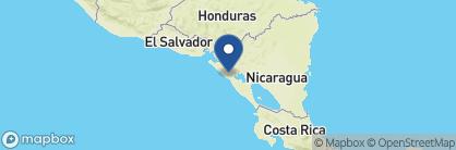 Map of Hotel los Balcones, Nicaragua