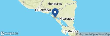 Map of El Convento, Nicaragua