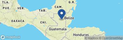 Map of Las Lagunas Boutique Hotel, Guatemala