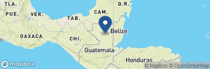 Map of Casona del Lago, Guatemala