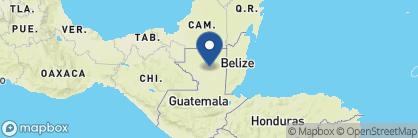 Map of Nitun Lodge, Guatemala