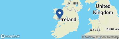 Map of Glenlo Abbey, Ireland