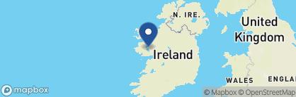 Map of Ashford Castle, Ireland