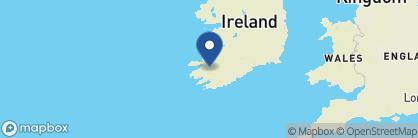 Map of Cahernane House, Ireland