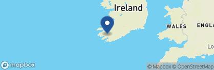 Map of Sheen Falls Lodge, Ireland