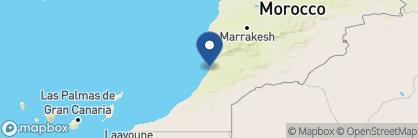 Map of Ksar Massa, Morocco
