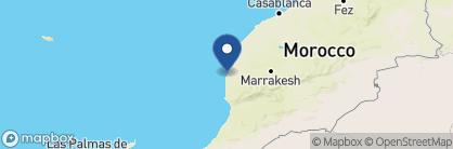 Map of Heure Bleue Palais, Morocco