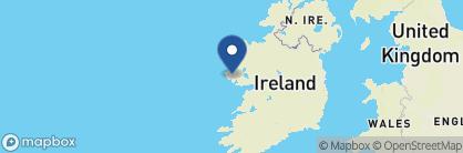 Map of Ballynahinch Castle, Ireland
