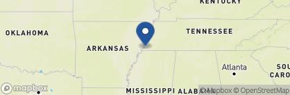 Map of Comfort Inn Downtown, Deep South