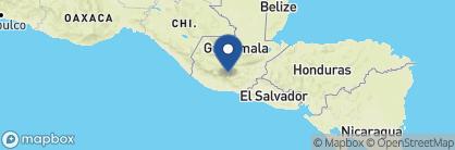 Map of El Convento, Guatemala