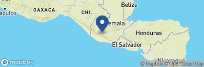 Map of Casa Palopó, Guatemala