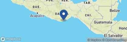 Map of Camino Real Zaashila, Mexico