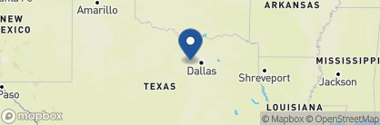 Map of Stockyards Hotel, USA