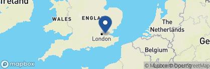 Map of Radisson Blu Edwardian Vanderbilt, England