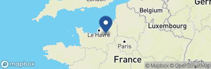 Map of Hôtel Reine Mathilde, France