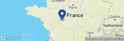 Map of Domaine de la Tortinière, France