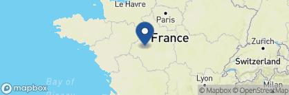 Map of Château des Arpentis, France